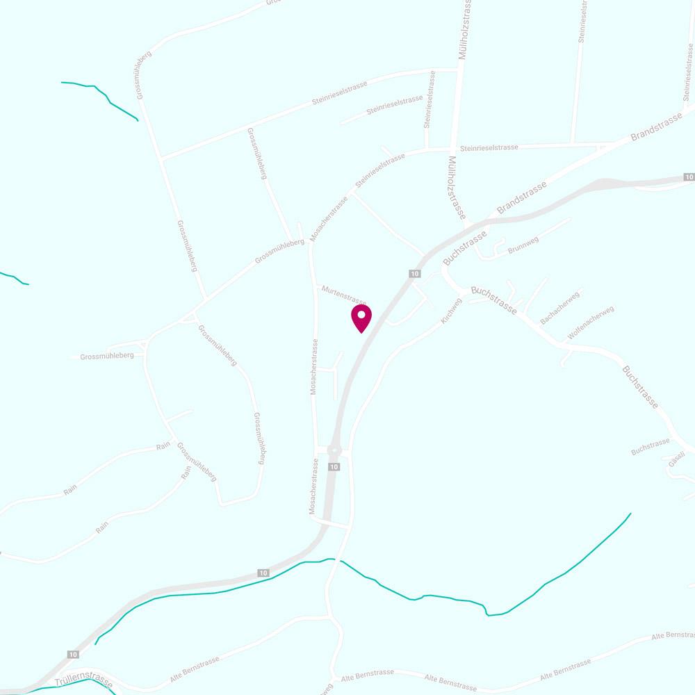 Gemeinschaftspraxis Mühleberg Karte